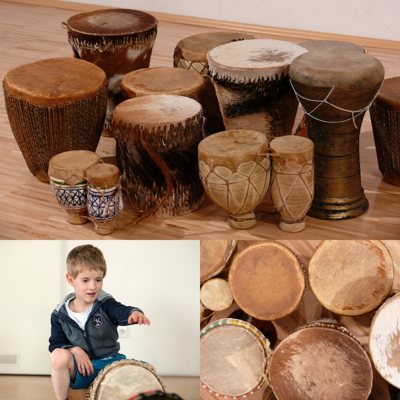Parent-Child Drumming