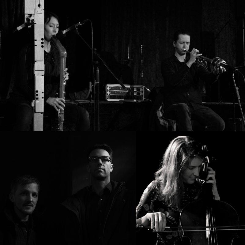 Improvisationskonzert mit Warble, Superimpose und Elisabeth Coudoux