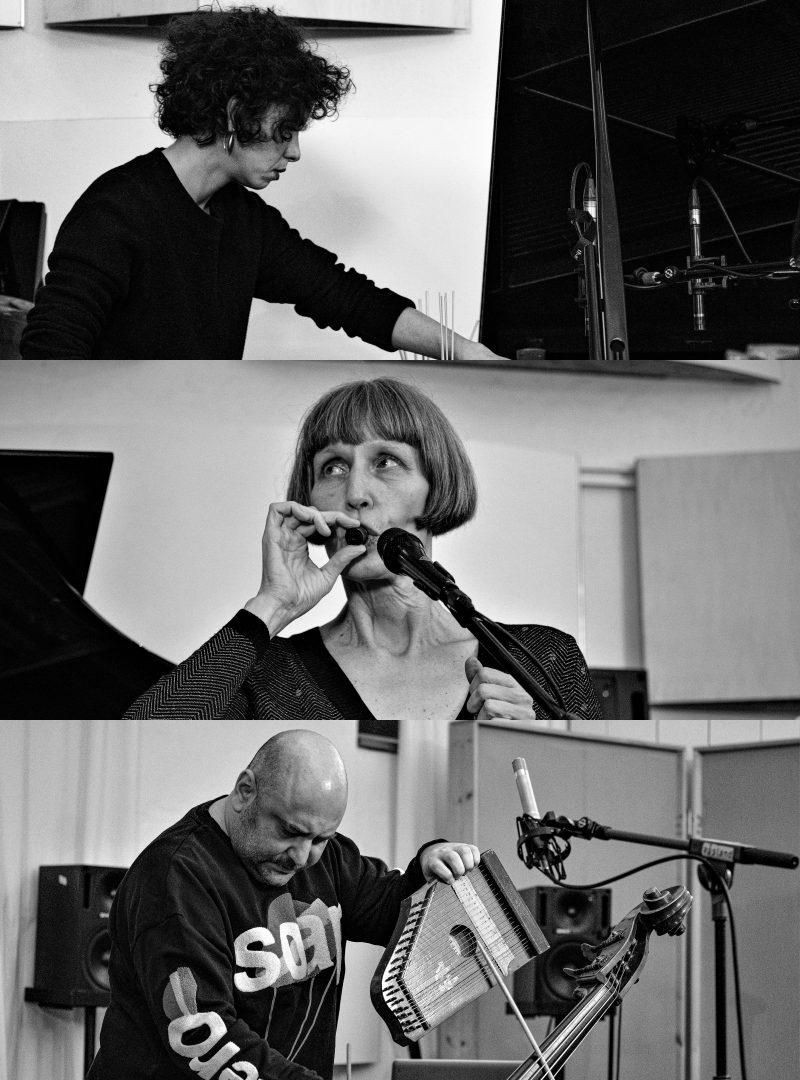 Improvisationskonzert mit Magda Mayas, Ute Wassermann, Raed Yassin