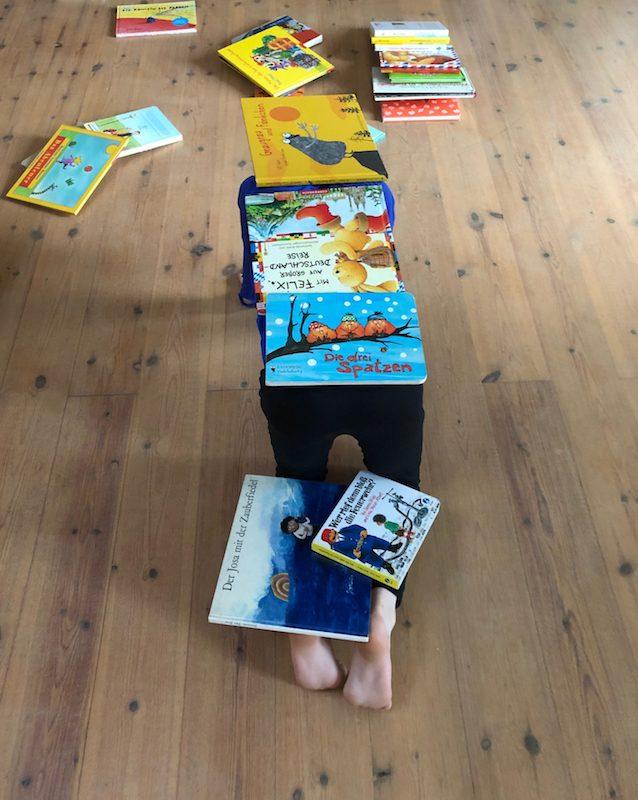 Workshop für Kinder zu Büchern