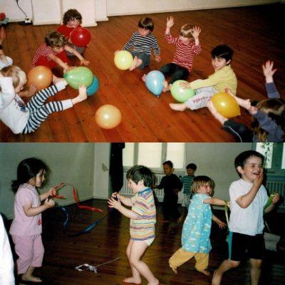 Fortbildung Tanzimprovisation mit Kindern